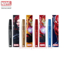 THE FACE SHOP 2 in 1 Curling Mascara 8.5g  [Marvel Collaboration]